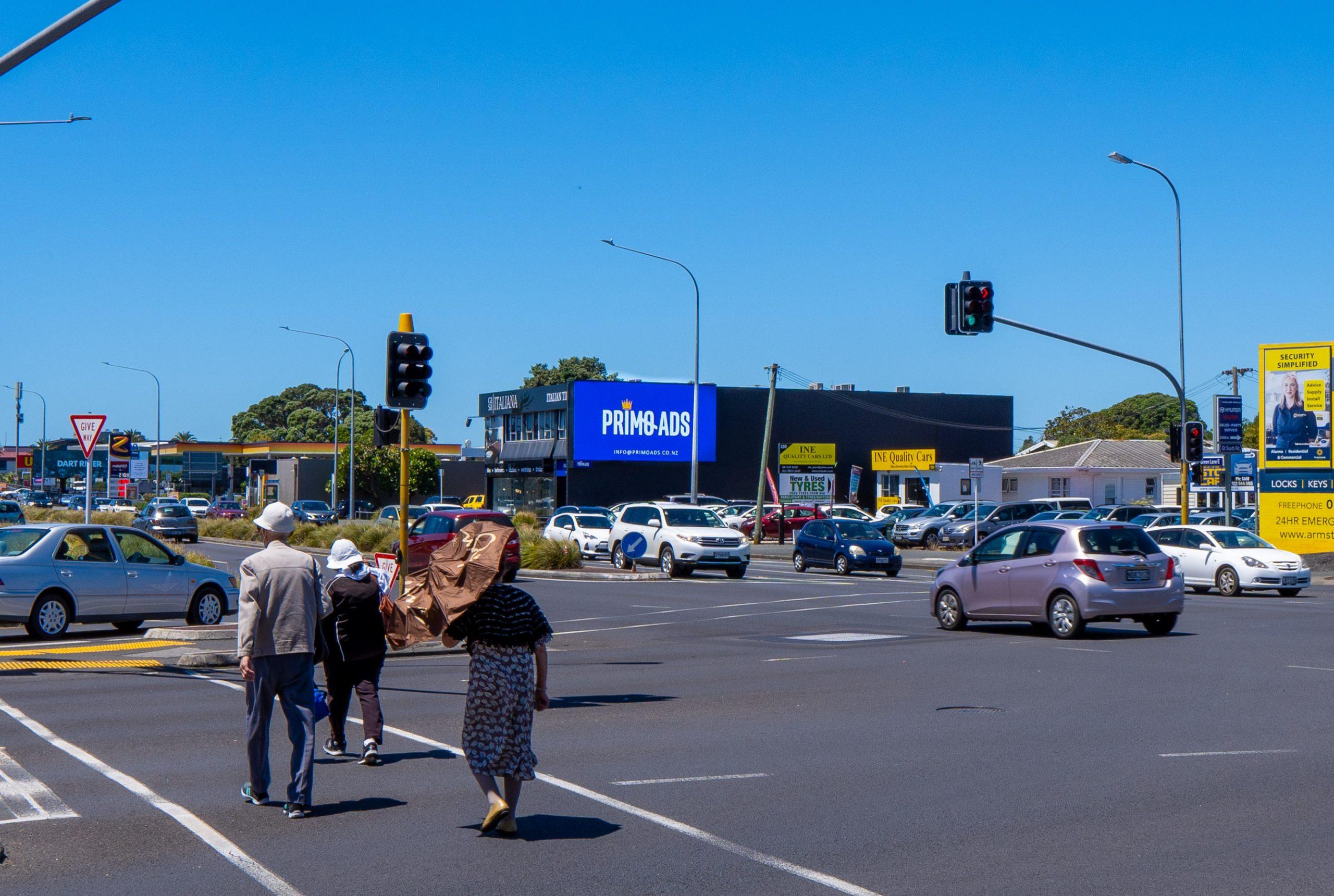 Greenlane Billboard Intersection
